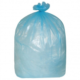 Jantex Large Medium Duty Blue Bin Bags 90Ltr (Pack of 200)