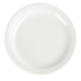 Olympia Whiteware Narrow Rimmed Plates 150mm (Pack of 12)