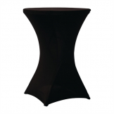 ZOWN Cocktail80 Table Stretch Cover Black