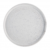 Olympia Cavolo Flat Round Plates White Speckle 270mm (Pack of 4)