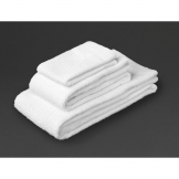 Essentials Carnival Hand Towel White (400g)
