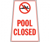 Pool Closed Portable Floor Stand - FL063