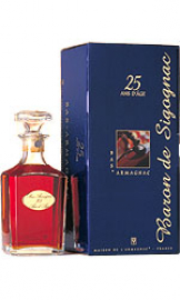 Image of Baron de Sigognac - 25 Year Old Armagnac Decanter