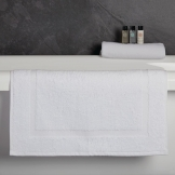 Essentials Capri Bath Mat White