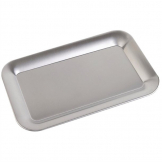 APS Stainless Steel Rectangular Service Tray 215mm