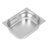 Vogue Heavy Duty Stainless Steel 1/2 Gastronorm Pan 100mm
