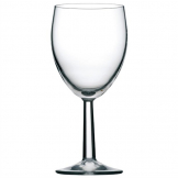 Utopia Saxon Wine Goblets 340ml CE Marked at 125ml 175ml and 250ml (Pack of 48)