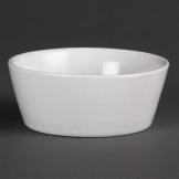 Olympia Whiteware Sloping Edge Bowls 90mm (Pack of 12)