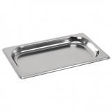Vogue Stainless Steel 1/4 Gastronorm Pan 20mm