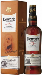 Dewars - 12 Year Old Double Aged (70cl Bottle)