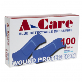 Standard Blue Plasters (Pack of 100)