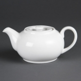 Olympia Whiteware Teapots 852ml (Pack of 4)