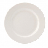 Utopia Pure White Wide Rim Plates 203mm (Pack of 24)
