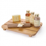 Bolero Wooden Slatted Amenities Tray 180mm (Single)