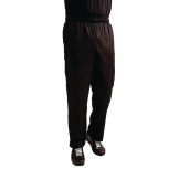 Whites Easyfit Trousers Teflon Black XS