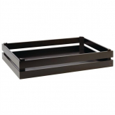 APS Superbox Buffet Crate Black GN1/1