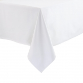 Essentials Occasions Tablecloth White 135 x 230cm (120 TC, Polyester)