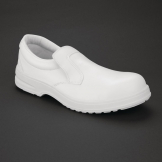 Lites Unisex Safety Slip On White Size 37