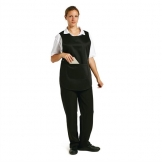 Tabard With Pocket Black Small