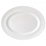 Steelite Alvo Oval Venitia Dishes 202mm