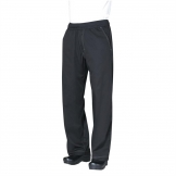 Chef Works Unisex Cool Vent Baggy Chefs Trousers Black L