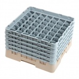 Cambro Camrack Beige 49 Compartments Max Glass Height 257mm