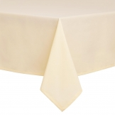 Essentials Occasions Tablecloth Ivory 90 x 90cm (120 TC, Polyester)