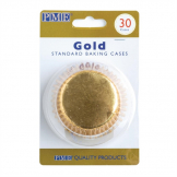 PME Cupcake Baking Cases Gold (Pack of 30)