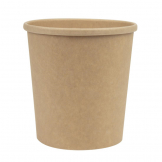 Colpac Recyclable Kraft Microwavable Soup Cups 450ml / 16oz (Pack of 500)