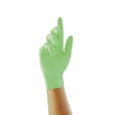 Pearl Powder-Free Nitrile Gloves Green Extra Large