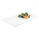 APS Apart Melamine Rectangular Buffet Tray White GN 1/1