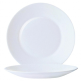 Arcoroc Opal Restaurant Wide Rim Plates 195mm (Pack of 6)
