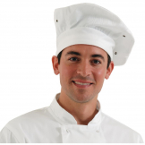 Chef Works Toque Chefs Hat White