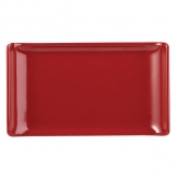 Alchemy Buffet Red Melamine Rectangular Trays 170x 100mm (Pack of 6)