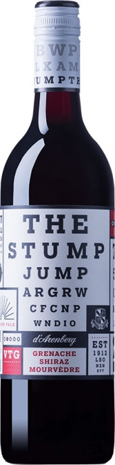d'Arenberg - The Stump Jump, Grenache, Shiraz, Mouvedre 2016 (75cl Bottle)