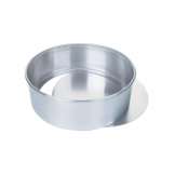 Aluminium Cake Tin With Removable Base 200mm