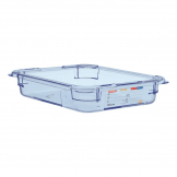 Aravan ABS Food Storage Container Blue GN 1/2 65mm