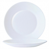 Arcoroc Opal Restaurant Wide Rim Plates 155mm (Pack of 6)