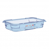 Aravan ABS Food Storage Container Blue GN 1/3 65mm