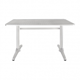 Bolero Double Pedestal Table Rectangular 1200mm