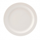 Utopia Pure White Narrow Rim Plates 230mm (Pack of 24)