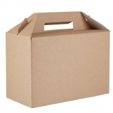 Colpac Recyclable Kraft Gable Boxes Large (Pack of 125)