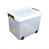 Araven Mobile Food Storage Bin with Lid