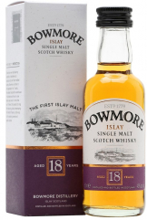 Bowmore - 18 Year Old Miniature (12 x 5cl Miniatures)