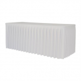 ZOWN XL180 Table Paramount Cover White