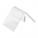 Clear T Shaped Menu Holder