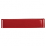 Alchemy Buffet Red Melamine Rectangular Trays 460x 100mm (Pack of 4)