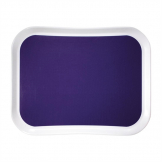 Cambro Versa Lite Century Fun Polyester Canteen Tray Grape 430mm