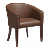 Aria Tub Chair - Brown