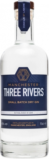 Manchester Three Rivers - Gin (70cl Bottle)